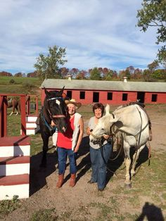 LuAnn and Me with Misty and Max