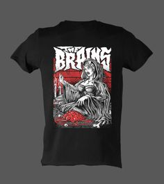 Features The Witch print on front. Psychobilly, Witch, Tees, Cotton, Mens Tops, T Shirt, Fashion, Moda, T Shirts