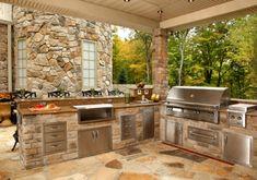 Wie Sie alleine eine Outdoor Küche im Außenbereich errichten können