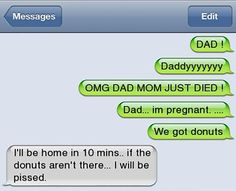 60 Of The Funniest Texts From Dads Ever
