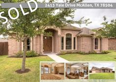 Another Property SOLD by The Deldi Ortegon Group at Keller Williams Realty!   2413 Yale Drive McAllen, TX 78504 www.SellingMcAllen.com