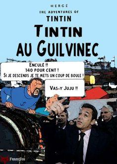 Les Aventures de Tintin - Album Imaginaire - Tintin au Guilvinec