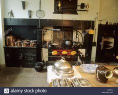 The Georgian House 7 Charlotte Square Edinburgh Kitchen Range