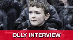 """Game of Thrones Season 5 Olly Interview - Brenock O'Connor talks about how excited he is for the Season 5 finale episode """"Mother's Mercy"""", why he'd like to see the return of Benjen Stark as wight, and whether Jon Snow and the Starks might all have warging abilities."""