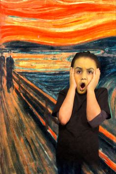 MUNCH SCREAM CANSIN NAŞAL