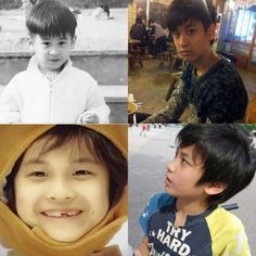 Eye Candy: Adorable childhood photos of YG Entertainment artists Kim Jinhwan, Chanwoo Ikon, Ikon Member, Ikon Debut, Jay Song, Hip Hop, Indian Boy, Bad Photos, God