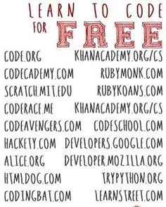 19 Free Resources to Learn Computer Science, Programming and Coding - visit Long. - 19 Free Resources to Learn Computer Science, Programming and Coding – visit LongLiveLearniing… - E Learning, Learning Websites, Educational Websites, Educational Technology, Educational Crafts, Blended Learning, Medical Technology, Learning Spaces, Energy Technology