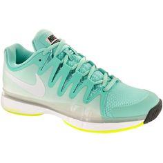 4d45795b369e Nike Zoom Vapor 9.5 Tour Women s Bleached Turquoise Volt White at  holabirdsports.com