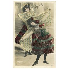 Belle Epoque Dancer Luz CHAVITA Real Photo by Reutlinger with from frenchkissed on Ruby Lane