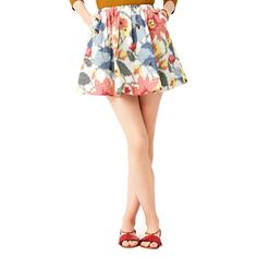 Full Skirt in Photo Floral by Kate Spade Saturday