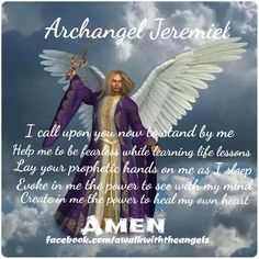 Archangel Jeremiel Prayer