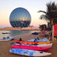 AbuDhabi beach, UAE أبوظبي٬ الإمارات www.batuta.com