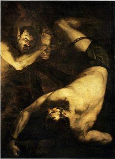 Ixion (1632) by Guiseppe De Ribera or Juseppe De Ribera
