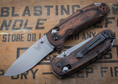 Benchmade Knives: 15031-2 HUNT - North Fork - Dymondwood $140.25