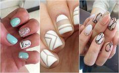 Wielki przegląd aktualnie modnych wzorów na paznokcie