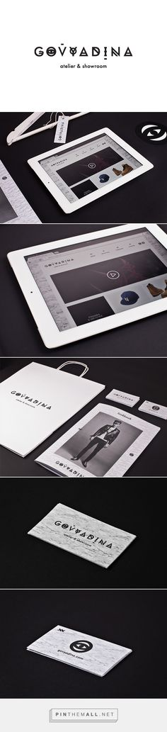 Govyadina - atelier & showroom on Behance | Fivestar Branding – Design and Branding Agency & Inspiration Gallery