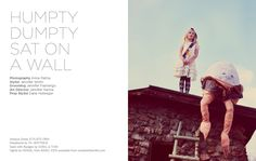 Humpty Dumpty shoot by Anna Palmer and styled by Jennifer Smith - Papier Mache
