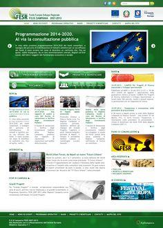 Fondo Europeo Sviluppo Regionale POR Campania 2007 - 2013: Web designer