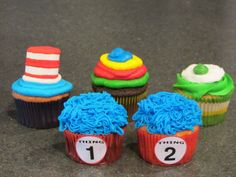 Dr. Seuss Party-these would be easy to make!!!!