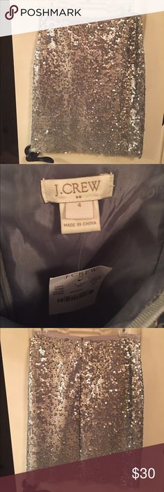 NWT! J Crew Sequin Pencil Skirt Ready to add some sparkle to your holiday season! Bundle & save! J. Crew Skirts Pencil