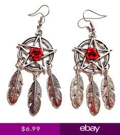 Brightt Plain Feather Dreamcatcher .925 Sterling Silver Earrings