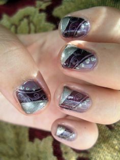 Enjoy the peace and tranquility experience of life style salon at Elegant Nails Design.:- http://goo.gl/Rohlxk #Nail_Set #Nail_Art