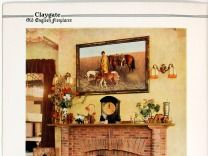 Publication - Claygate old English fireplaces, manufacturer of Tudor Briquettes, by Wiggins-Sankey Ltd, Lysia Street, Fulham, SW6