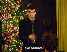 New Girl, Schmidt - Eye Contact My favorite episode so far!! Watched this part like 5 times!