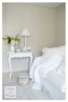 Calm and relaxed white living