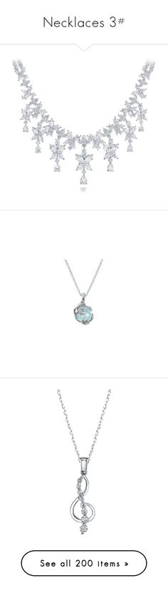 """""""Necklaces 3#"""" by fallenleave ❤ liked on Polyvore featuring jewelry, necklaces, accessories, colares, jeweled necklace, harry winston jewelry, drop necklace, jewels jewelry, harry winston and celtic jewelry"""
