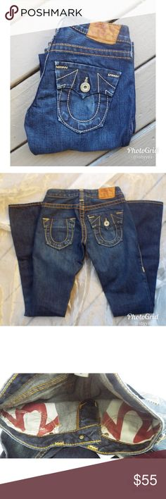 Authentic True Religions Gorgeous true religions. Excellent craftsmanship. From my personal collection. True Religion Jeans