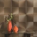 Echo 96 in. x 48 in. Decorative Wall Panel in Oil Rubbed Bronze