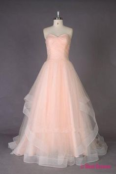 Prom Dresses For Teens, Strapless Sweetheart A-line Tulle Prom Dress Evening Gowns,Party Dresses,Sexy Formal Dress For Teens Dresses Modest Formal Dresses For Teens, Cheap Prom Dresses, Quinceanera Dresses, Bridal Dresses, Prom Gowns, Dresses 2016, Pink Dresses, Cheap Dress, Bridal Gown