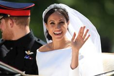 On 19 May the wedding of Prince Harry and Ms. Meghan Markle took place at St George's Chapel, Windsor Castle. Related Post In December, Harry and Meghan released their offic. Meghan Markle wears a striped designer dress as sh. Prince Harry Wedding, Harry And Meghan Wedding, Prince Harry And Meghan, Wedding Photo Pictures, Wedding Photo Gallery, Givenchy Wedding Dress, Meghan Markle Wedding Dress, Princess Meghan, Meghan Markle Style
