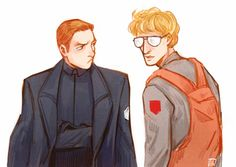 - I heard someone saw Kylo Ren without his mask, very good looking, awesome haircut. - ……Go back to your work, Ren.