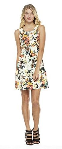 Everyone needs a floral dress.