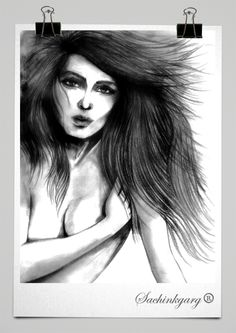 All Pencil sketches are portraits and fashion looks.
