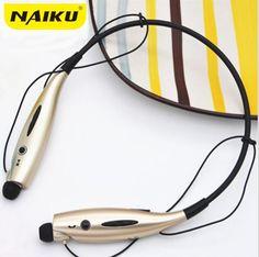Hot NAIKU-730 Auricolare Bluetooth Senza Fili Auricolari Bluetooth Sport Cuffia  con Microfono Bass Auricolare f9d16243b266