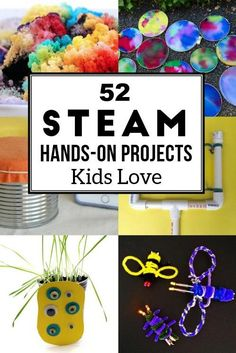 Hands on STEAM activities for kids