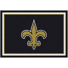 "New Orleans Saints 92"" x 129"" Spirit Rug"