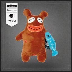 Peluche Beary Fishy Dooodolls. Une très jolie peluche ours vraiment design et originale. Beary Fishy est du signe du verseau.
