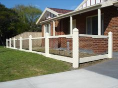 Cheap Fence Ideas Feature Fencing Brush Custom Gates