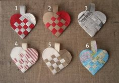 woven hearts: actual tutorial is here