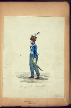 (NYPL > The Vinkhuijzen collection of military uniforms > Russia. > Russia, 1800.)
