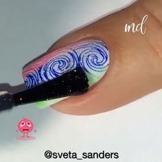 Nail Art Hacks, Nail Art Diy, Diy Nails, Cute Nails, Nail Art Designs Videos, Nail Art Videos, Airbrush Nails, New Nail Art Design, Nails Only