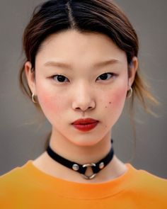 "koreanmodel: "" Street style: Bae Yoon Young at SFW Spring 2017 by Ahn Hong Je """