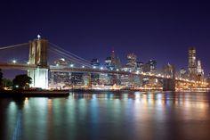 Brooklyn Bridge and Manhattan.  I felt much energy of the people who desire the American Dream.