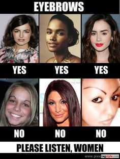 Do's and Don'ts of Beautiful Eyebrows
