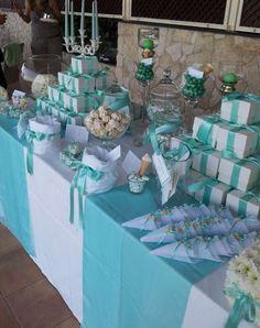 Mise en place di matrimonio:tavolo per bomboniere