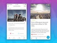 Infonity, news app